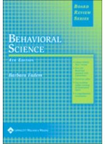 Behavioral Science (Board Review Series), 4e
