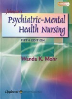 Johnsons Psychiatric Mental Health Nursing (5th ed )