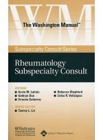 The Washington Manual™ Rheumatology Subspecialty Consult