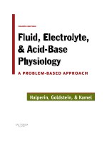 Fluid Electrolyte and Acid-Base Physiology,4/e