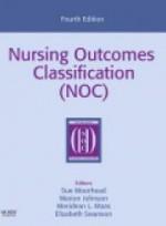 Nursing Outcomes Classification (NOC) 4e