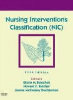 Nursing Interventions Classification (NIC) 5e