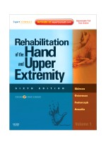 Rehabilitation of the Hand and Upper Extremity, 6/e(2Vol)