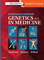 Thompson & Thompson Genetics in Medicine,8/e
