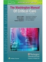 The Washington Manual of Critical Care, 3/e [Paperback]