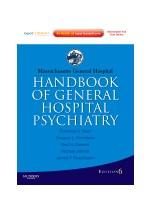 Massachusetts General Hospital Handbook of General Hospital Psychiatry, 6/e